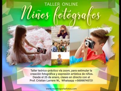 Taller Niños Fotógrafos