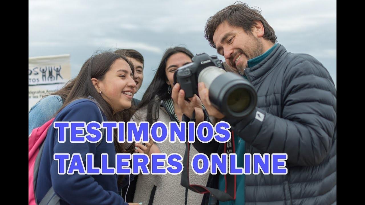 Testimonios Talleres Fotográficos Online Cristian Larrere